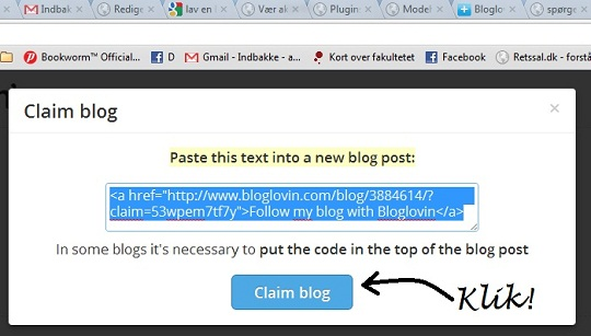 Sådan laver du en blog på Bloglovin'