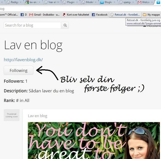 Guide til Bloglovin'