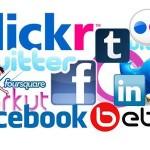 brug de sociale medier