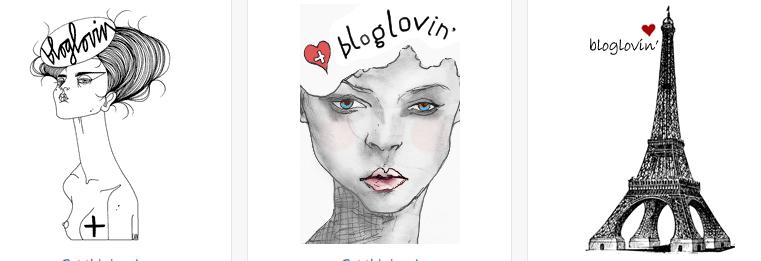Bloglovin' ikon