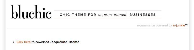 feminint tema til WordPress
