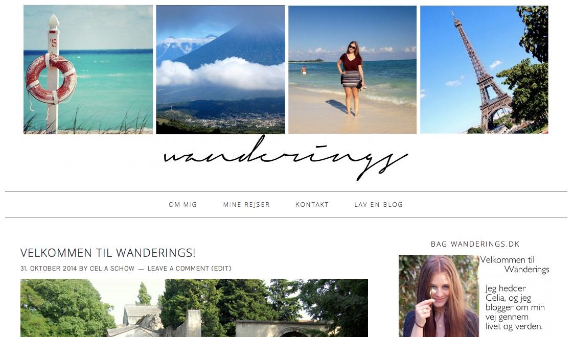 Wanderings blof