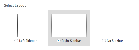 sidebar location BOLD theme