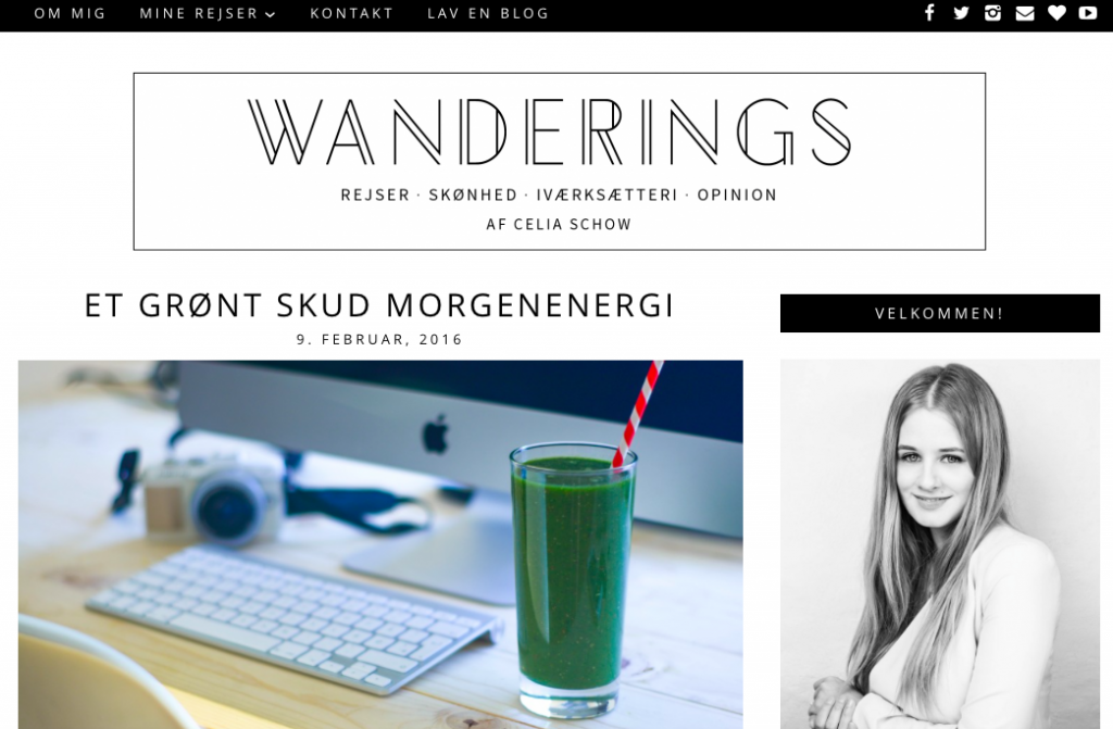 wanderings header