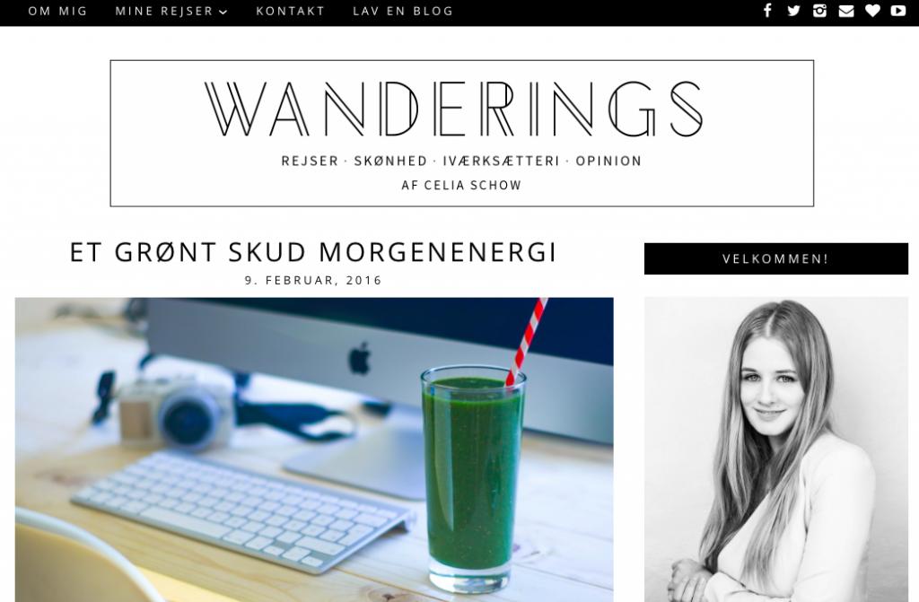 wanderings header