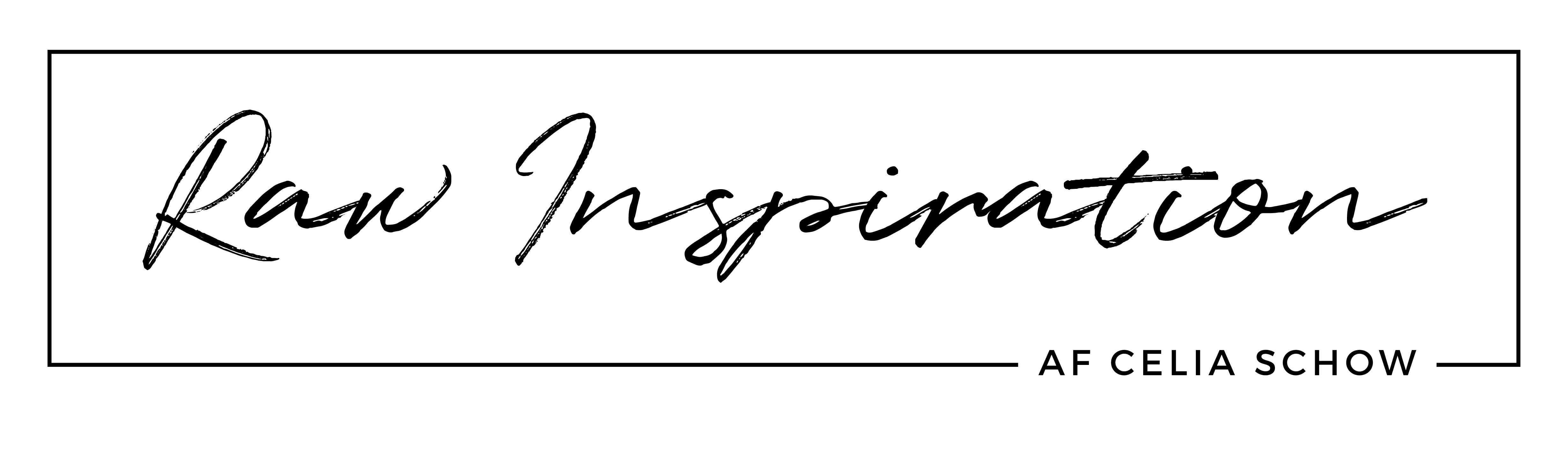 Raw Inspiration med navn i højre side er en header fra Lavenblog.dk