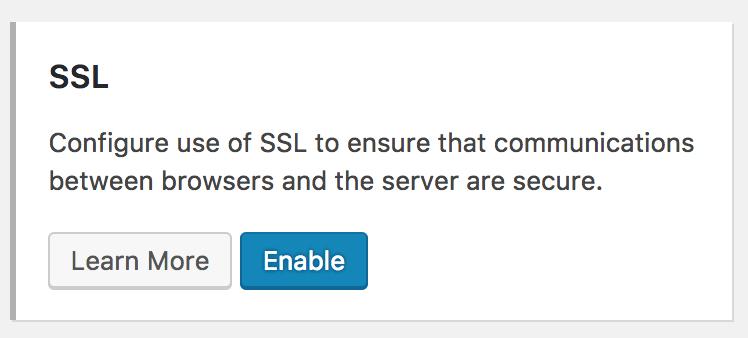 SSL er et sikkerhedscertifikat, som du kan aktivere ved hjælp af iThemes.