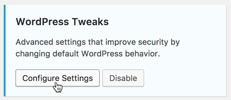 Her laver du en række sikkerhedsændringer i WordPress.