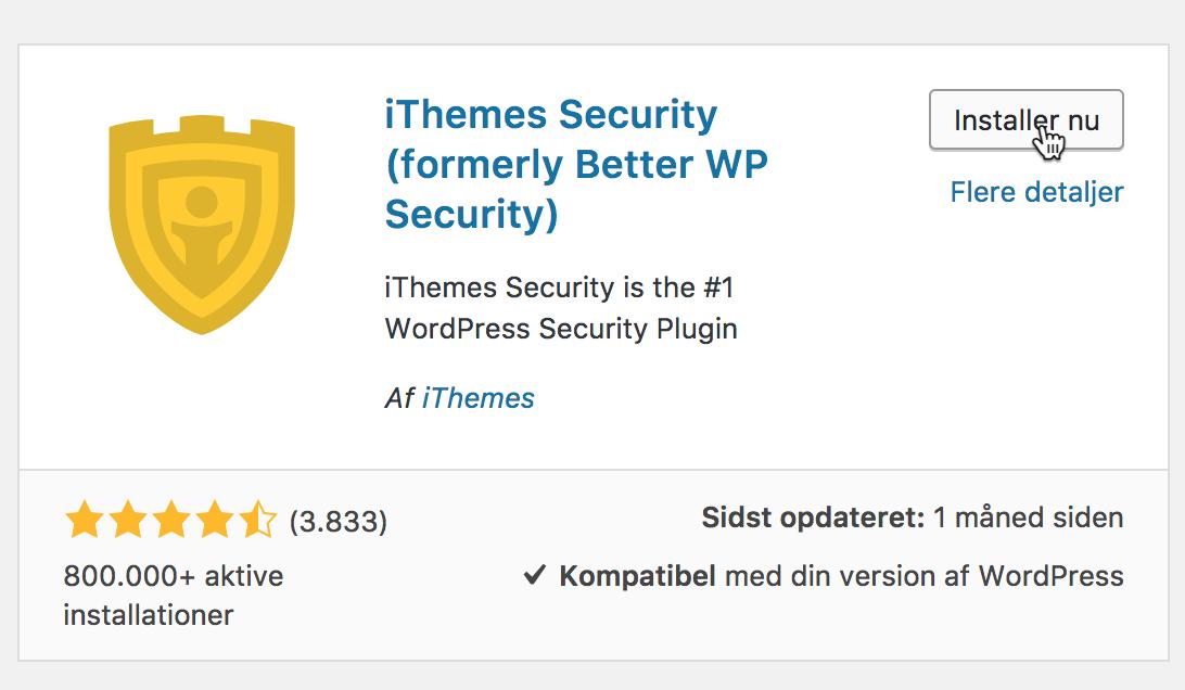 Sådan får du ekstra sikkerhed på din blog med iThemes Security.